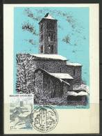 ANDORRA-  CARTA MAXIMAS SERIE CATALOGO M. ABAD Nº 178 - Cartas