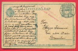 157161 /  WW1 BRASSO Hungary Ungarn Hongrie Romania Rumanien Roumanie Roemenie Stationery Entier Ganzsachen Censorship - 1. Weltkrieg