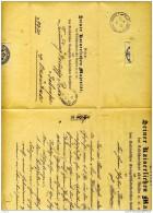 Okmeany  Mitau  Kurlendischen Evangelisch Luteranischen Konsistorio - Briefe U. Dokumente