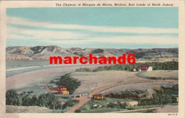Etats Unis North Dakota The Chateau Of Marquis De Mores Medora Bad Lands - Autres
