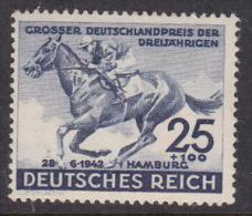 Germany 1942 73rd Hamburg Derby MNH - Germany