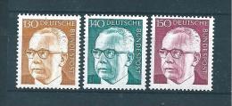 Allemagne Fédérale Timbre De 1970/73   N°516C  A  516E    Neufs - Neufs