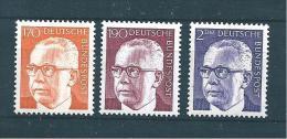 Allemagne Fédérale Timbre De 1970/73   N°516G  A  517    Neufs - Neufs