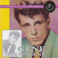 CD - GENE VINCENT - Original Artist And 6 Page Booklet - Picture Disc - Rock