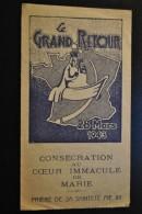 Image Pieuse Le Grand Retour De Notre Dame De Boulogne 28 Mars 1943 - Images Religieuses