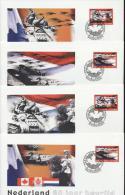 Netherlands - Cover: Maximum Card - Army, War, World War II - Guerre Mondiale (Seconde)