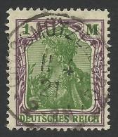 Germany, 1 M. 1920, Sc # 129, Mi # 150, Used. - Gebraucht