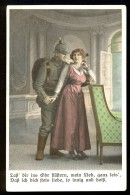 Lass Dir Ins Ohr Flustern, Mein Lieb, Ganz Leis... / S. D.D. Serie 6102/4 ------ Postcard Traveled - Autres