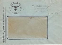 Germany Official Mail Cover, Postal Markings, Labels, Registered,    (Z-1677) - Allemagne
