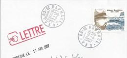 Y. Et T. 4027 Sur Enveloppe - Albert Londres - Oblitération Manuelle - France