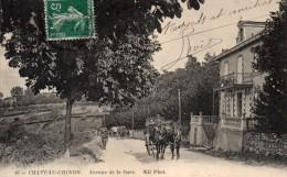 CHATEAU-CHINON-AVENUE DE LA GARE-BE - Chateau Chinon