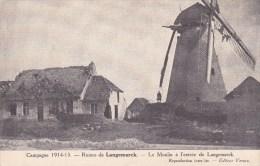 Langemarck, Le Moulin à L'entrée De Langemarck (Campagne 1914-1915) - Langemark-Pölkapelle