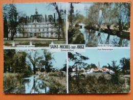 V09-90 Plus-saint Michel Sur Orge--multivues-4 Vues-carte Photo- - Saint Michel Sur Orge