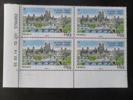 FRANCE 2014 N° 4848 NEUF** EMISSION COMMUNE FRANCE CHINE LA SEINE COIN DE FEUILLE DATE DU 03/03/14 - 2010-....