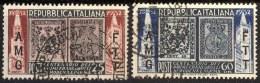ITALIA - TRIESTE - MODENA - USED - 1952 - Gebraucht