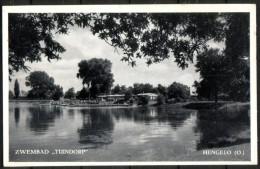 """HENGELO - Zwembad """"Tuindorp"""" -  Geschreven - Circulé - Circulated - Gelaufen. - Hengelo (Ov)"""