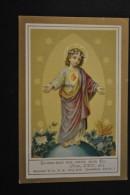 Image Pieuse Benziger - Chromo - Donne-moi Ton Coeur Mon Fils - Devotion Images