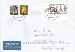 Germany 2014 Dresden Child Puppet Comic Lettering Tulip Crocus Flower Cover - [7] West-Duitsland