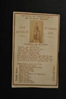 Image Pieuse Saudinos Ritouret  - Souvenir Du Couronnement De Sainte Anne D'Auray 30 Septembre 1868 - Photo Albuminée - Santini
