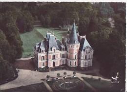 Evaux Les Bains- Chateau Relibert - ** Belle Carte De 1963 ** Ed. Lapie N°9 - Evaux Les Bains