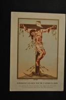 Image Pieuse Saudinos Ritouret  - Reprouction D'un Christ Martyr Peint Par Alphonse De Liguori - Imágenes Religiosas