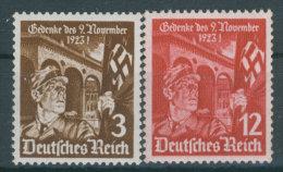 Deutsches Reich Michel No. 598 - 599 ** postfrisch