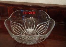 Superbe Coupe à Fruit En Cristal D'ARQUES -- Modèle Ancona --  Neuve Dans Sa Boite  -- - Glass & Crystal