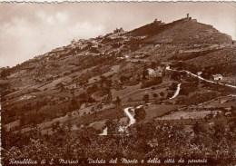 Repubblica Di S.Marino - Veduta Del Monte E Della Citta Da Ponente - San Marino