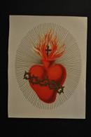 Image Pieuse Sacré-Coeur - Chromo - Devotion Images