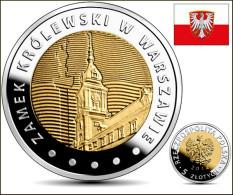 "Polonia/Poland 5 Zlotes 2.014 2014 Bimetálica ""Castillo Real De VARSOVIA"" SC/UNC    T-DL-11.081 - Polonia"