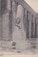 Cpa-56-saint Jean De La Poterie- Monument Aux Morts-edi Bouteloup - Otros Municipios
