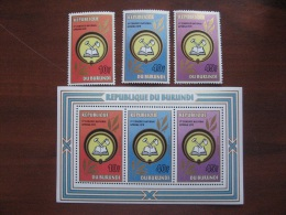 Burundi 1981  MNH 1574.76+BL 116 - 1980-89: Ongebruikt