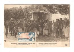 """CPA :Tirailleurs Algériens - Marcophilie : Timbre """" Jusqu'au Bout"""" + Français N'achetez Plus De Produits Allemands ... """" - Guerre 1914-18"""