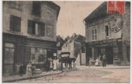 CARRIERES SOUS BOIS  RUE DU BELLOY  RESTAURANT A LA HALTE DES CYCLISTES  Cachet 1908 - Maisons-Laffitte