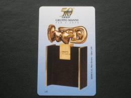 ITALIA TELECOM - 3356 C&C 265 GOLDEN - PRIVATE PUBBLICHE - MANNI SCULTURA LIRE 2.000 - NUOVA - Italia