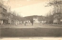 Cpa  Carqueiranne  Place De La Republique - Carqueiranne