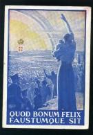 T1756 CARTOLINA POSTALE FRANCHIGIA COMITATO AMICI DEL VETERANO TURATE PRINCIPI DI PIEMONTE - 1900-44 Victor Emmanuel III