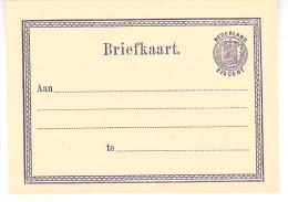 Briefkaart G 3  Ongebruikt - Entiers Postaux
