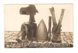 Militaria - Carte Photo :Bombe Torpille Lancée D´un Avion Allemand Brisée Dans Sa Chûte - Guerre 1914-18