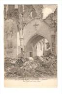 CPA : 62 - Aix Noulette - Intérieur De L'Eglise - Le Christ Seul Reste Intact - Guerre 1914-18