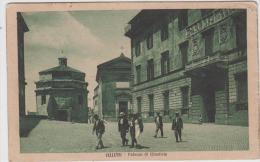 AK -Velletri - Menschen Vor Dem Palazzo Di Giustizia - (Justizpalast) 1924 - Velletri