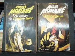 Liv. 150. Deux Bob Morane, Un Dédicé Par Henri Vernes. - Boeken, Tijdschriften, Stripverhalen