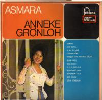 * LP *  ANNEKE GRÖNLOH - ASMARA (Holland 1962 EX-!!!) - Wereldmuziek