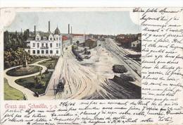 Allemagne - Gruss Aus Schmölln  - Précurseur Postmarked 1906 Glauchau-Gern - Altenburg