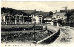 64  SAINT JEAN DE LUZ  -  LA ROUTE DE  LA JETEE - Saint Jean De Luz