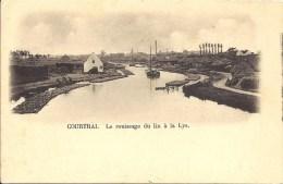 COURTRAI - Le Rouissage Du Lin à La Lys - Kortrijk