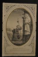 Image Pieuse Canivet Dentelle - Notre Dame Du Chêne à Vion - Très Rare - Images Religieuses