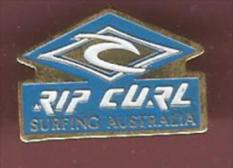 39878-Pin's.Surf.Rip Curl.Australie. - Water-skiing