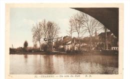 CPA 88 Charmes Un Coin Du Port De 1949 - Charmes