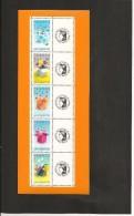 FEUILLE   F 4082 A   Message - Gepersonaliseerde Postzegels